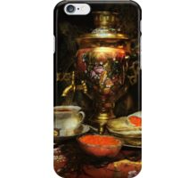 Russian hospitality iPhone Case/Skin
