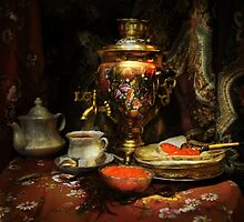 Russian hospitality by VallaV