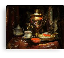Russian hospitality Canvas Print