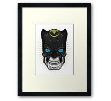 Sugar Skull Series - Batman Framed Print