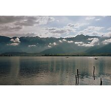Dal Lake, the Jewel of Kashmir Photographic Print
