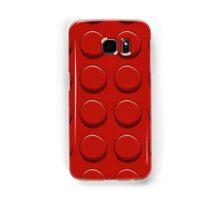Red Lego Samsung Galaxy Case/Skin