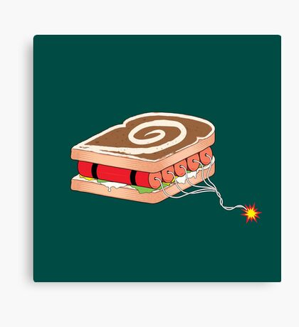 Dynamite Sandwich Canvas Print