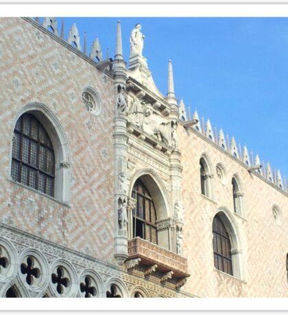 Piazza San Marco Balcony Sticker