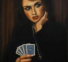 """Full House"" Oil on Canvas by John D Moulton"