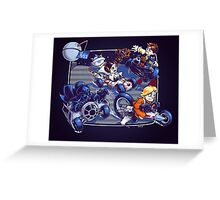Super Kart Wars Greeting Card