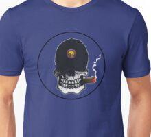US Navy Golden Shellback Skull Shield Unisex T-Shirt