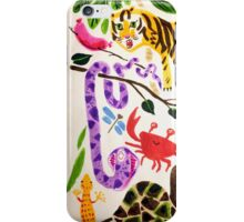 hungry tiger iPhone Case/Skin