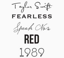 Taylor Swift albums by anoekr