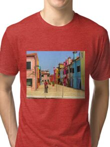 Vacation Photographer Tri-blend T-Shirt
