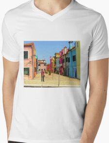 Vacation Photographer Mens V-Neck T-Shirt