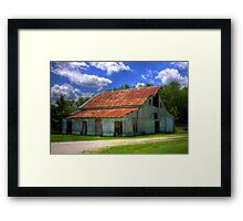 I'm a Little Green Around the Edges Framed Print