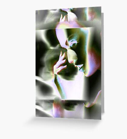 649vi Woman Greeting Card