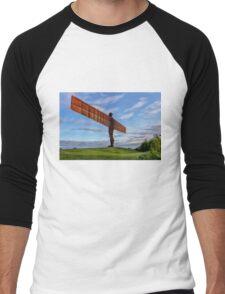 Angel of the North Men's Baseball ¾ T-Shirt