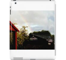 Look what's at the end of my rainbow ! iPad Case/Skin