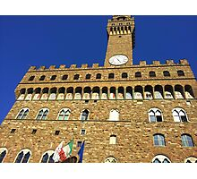 Florence Castle Photographic Print