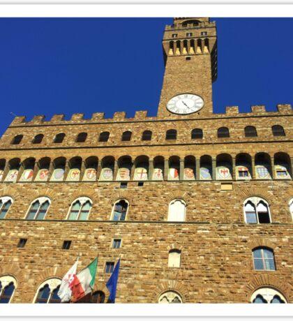 Florence Castle Sticker