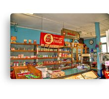 Gilbertsons Country Store-2 Canvas Print