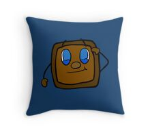 Tiny Box Tim salutes you   Markiplier   *NEW INCLUDED* Throw Pillow