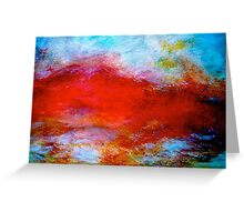 """Abstract...The """"Typhon"""" Greeting Card"""