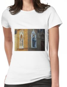 Florence Street Statues Womens Fitted T-Shirt