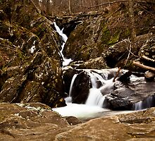 Dark Hallow Falls - Skyline Drive by Holden Byler
