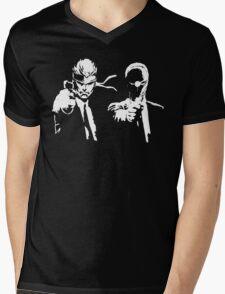 Metal Gear Fiction (Pulp Gear Solid) Mens V-Neck T-Shirt