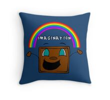 Imagination   Tiny Box Tim   Markiplier   *NEW INCLUDED* Throw Pillow