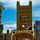 Bridge in Sacramento, CA by Julie Wall