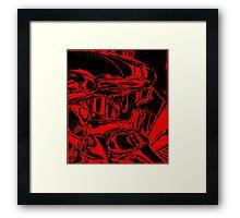 Martian Invasion Framed Print