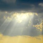 Crepuscular Rays by Caren