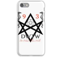 DWTW iPhone Case/Skin