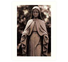 St. Joseph Catholic Cemetery - 4 Art Print