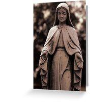 St. Joseph Catholic Cemetery - 4 Greeting Card