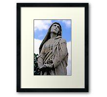 St. Joseph Catholic Cemetery - 5 Framed Print