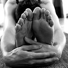 Pashimottasana C by Lauren Tober