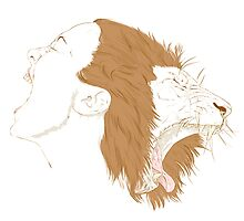 The Lion and the Lady by bendrawslife