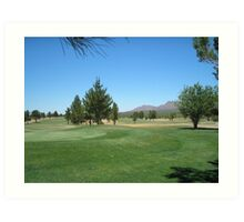 Now if i can make an Eagle... Turquoise Valley Golf Course-Az Art Print