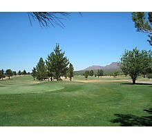 Now if i can make an Eagle... Turquoise Valley Golf Course-Az Photographic Print