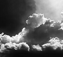 ©HCS Clouds Merging IIA Monochromatic nr. by OmarHernandez