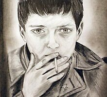 Ian Curtis by essenn