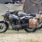 Army Bikes by Steven Squizzero