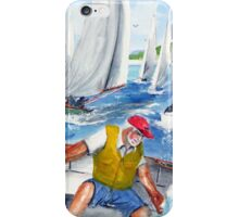 The Artist Leads The Pack... iPhone Case/Skin