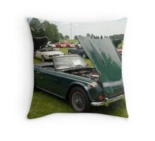 Triumph TR250 Throw Pillow