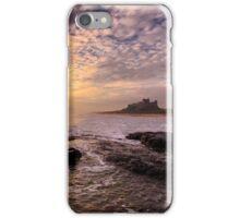 Bamburgh Castle Sunrise iPhone Case/Skin