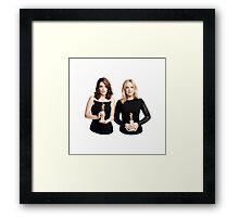 Tina and Amy Framed Print