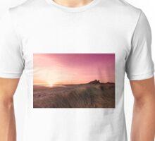 Bamburgh Castle Sunrise Unisex T-Shirt