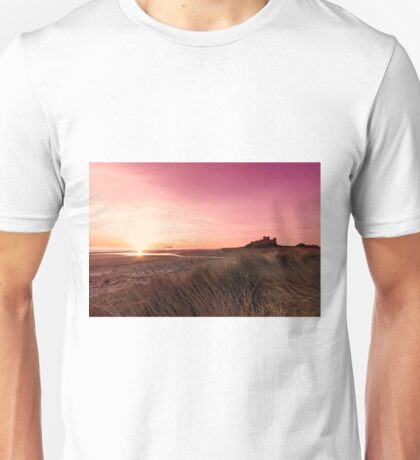 Bamburgh Castle Sunrise Unisex T-Shirt