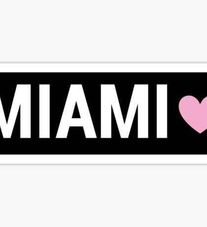 Miami Brandy Sign Sticker