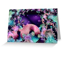 Subspace Travel Greeting Card